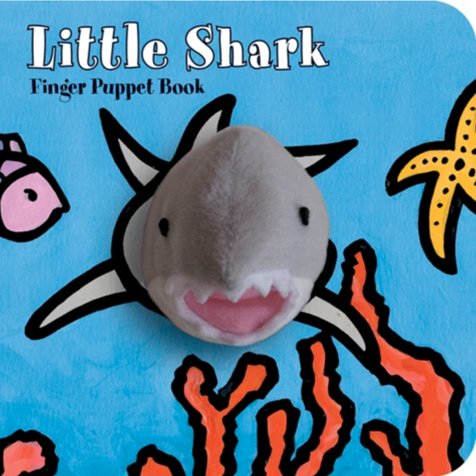 Little Shark Finger Puppet Books