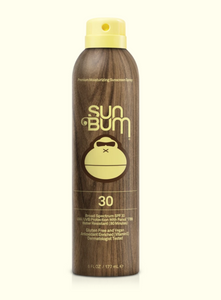 sun bum 30 spf spray sunscreen