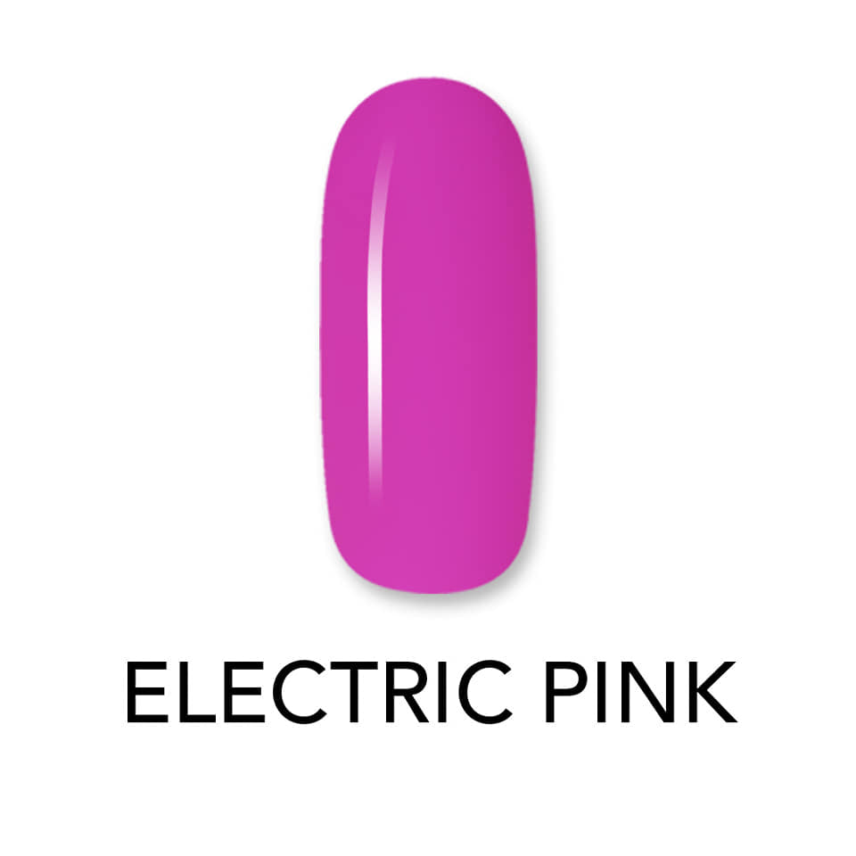 Electric Pink Gel Polish