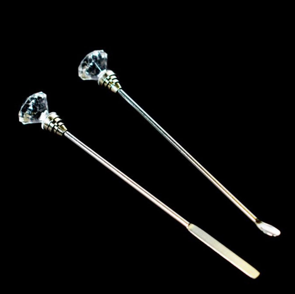 Gel Stirrer & Spoon - MagpieBeautyUSA