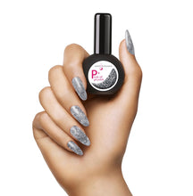 Load image into Gallery viewer, NEW P+ Sterling Glitter Gel Polish