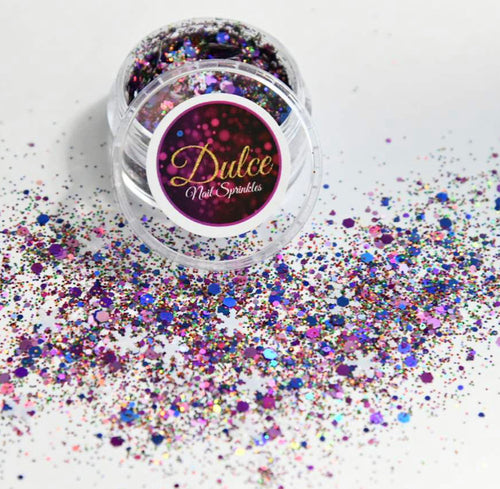 Dulce Winter Nail Sprinkles