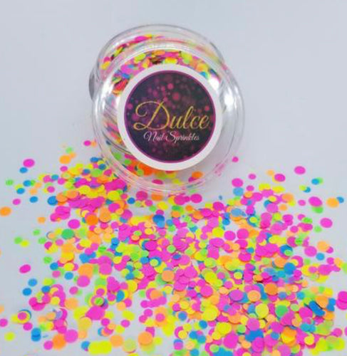 Bright Heat Nail Sprinkles