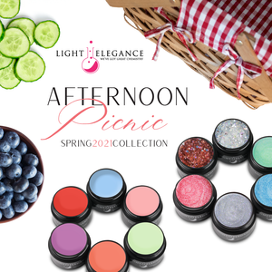 Afternoon Picnic Spring 2021 Color Gel Collection
