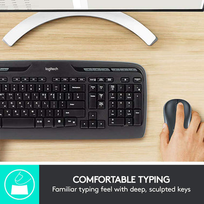 LOGITECH MK330 WIRELESS COMBO | Wireless Keyboard and Mouse