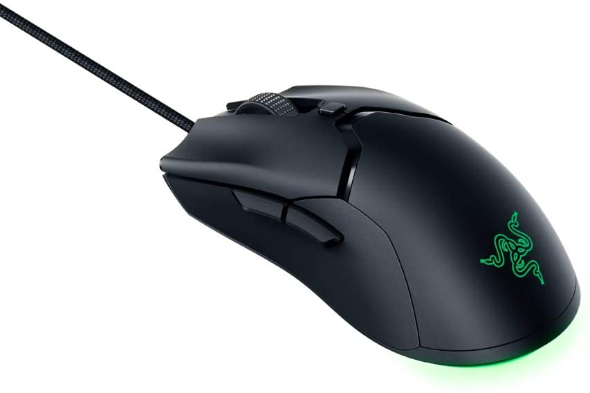 RAZER VIPER MINI RZ01-03250100-R3M1  | Gaming Mouse, 8500 DPI Optical Sensor For Precise Tracking, 61G Ultra-Light Weight Ambidextrous Design For Smooth, Effortless Control, RAZER Speedflex Cable For Minimal Drag And Fluid Swipes