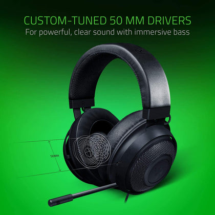 RAZER KRAKEN BLACK - RZ04-02830100-R3M1 | Gaming Headset