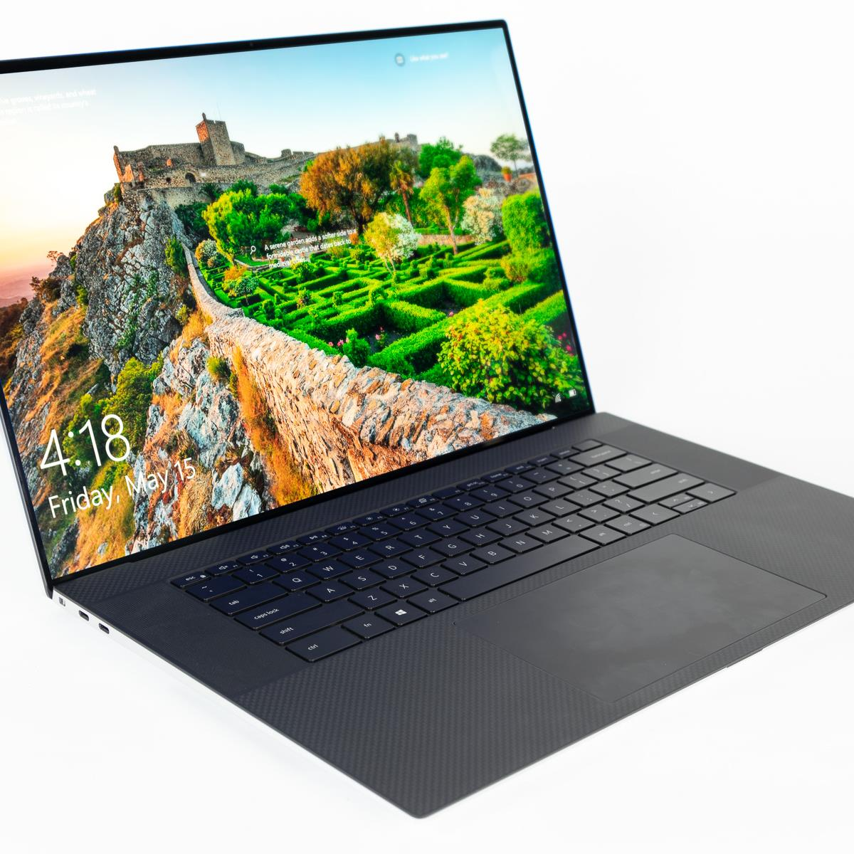"DELL XPS 17-9700-2500-SLVC | Intel Core i7 10875H 2.30Ghz, 32GB RAM, 1TB SSD, 17.0"" UHD Touch Screen, 6GB NVIDIA Geforce RTX 2060 Graphics, Wireless, Bluetooth, Camera, Fingerprint, Windows 10 Home, Eng-Arab Keyboard,1 Year DELL Warranty."