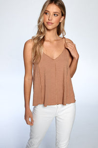 Twist Strap Solid Tank - Olive & Sage Boutique