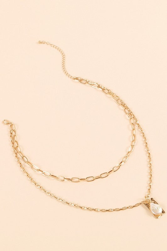Fresh Water Pearl Necklace - Gold - Olive & Sage Boutique