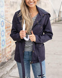 Grace & Lace Rain Jacket - Olive & Sage Boutique