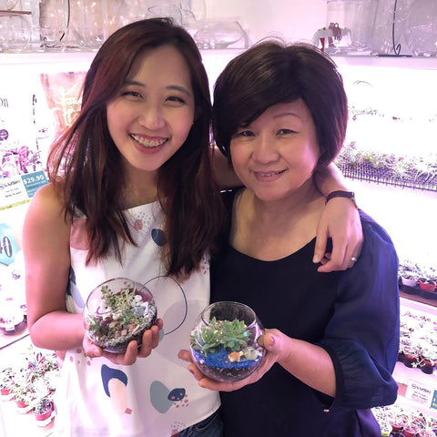 Mother's Day Terrarium Workshop/ Terrarium Workshop for Mummies