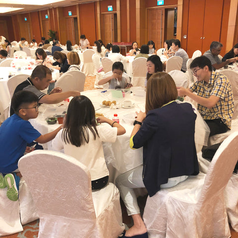 Lush Glass Door hosted a corporate terrarium workshop for Singapore General Hospital SGH annual staff retreat 9