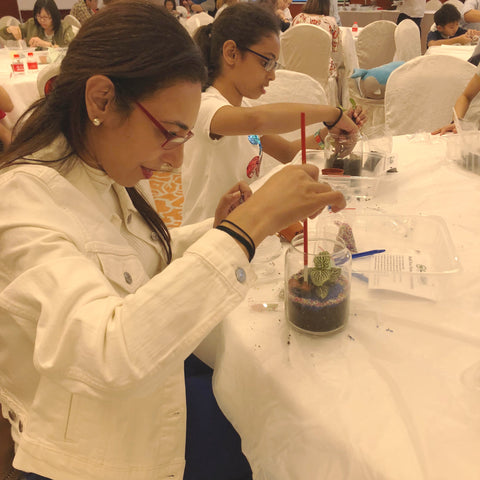Lush Glass Door hosted a corporate terrarium workshop for Singapore General Hospital SGH annual staff retreat 5