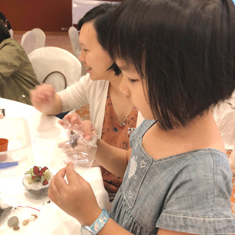 Lush Glass Door hosted a corporate terrarium workshop for Singapore General Hospital SGH annual staff retreat 4