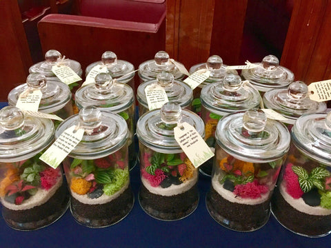Terrarium for Event, Corporate, Door Gifts at The Arthouse, Old Parliament House by Lush Glass Door