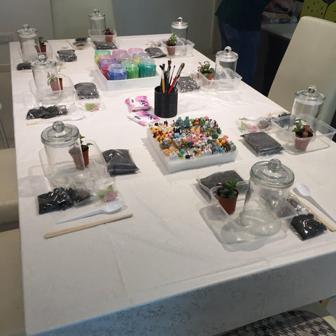 Private Terrarium Workshop for Birthday Party