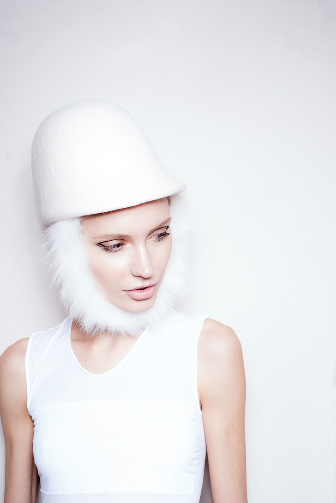 White Collection Hat 13