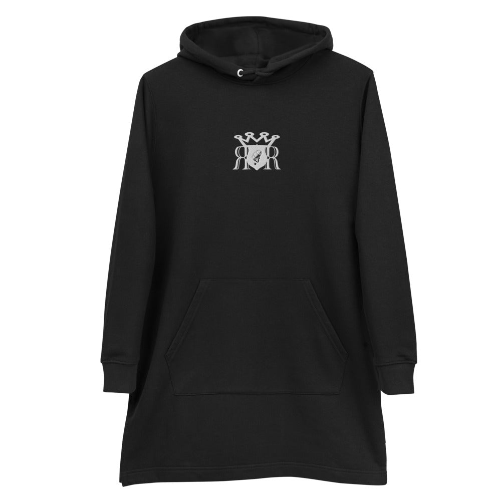 Royal Emblem Hoodie dress