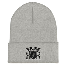 Load image into Gallery viewer, Ron Royal (Black) Cuffed Beanie