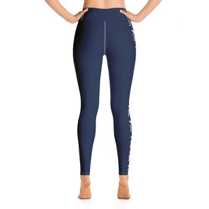 Ron Royal Yoga Leggings (Navy)