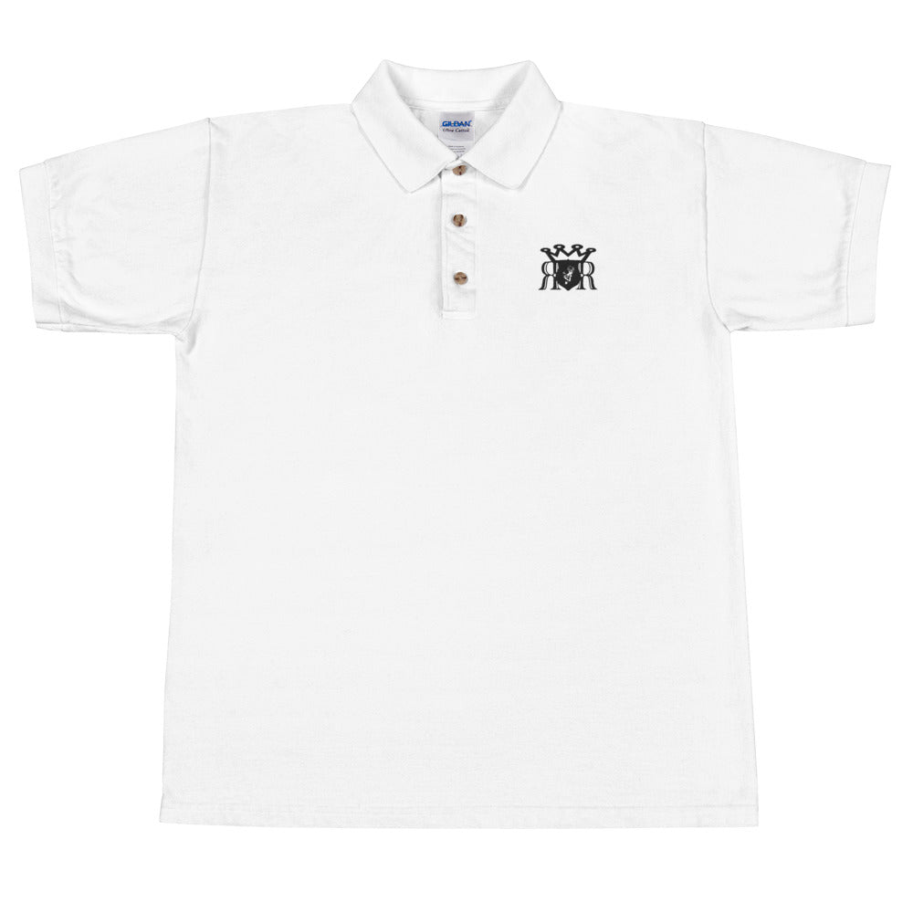 Ron Royal Embroidered Polo Shirt