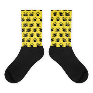 Ron Royal patterned Socks Yellow