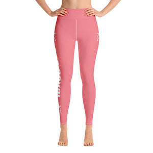 Ron Royal Yoga Leggings (Pink)