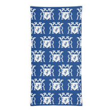 Load image into Gallery viewer, Ron Royal blue/white Neck gaiter