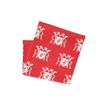Load image into Gallery viewer, Ron Royal Red/White Neck gaiter