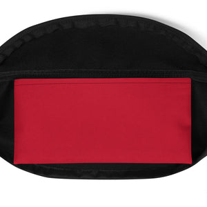 Ron Royal Red/Black Crossbody Bag