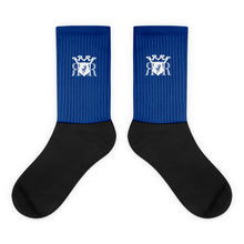 Load image into Gallery viewer, Ron Royal Socks Blue