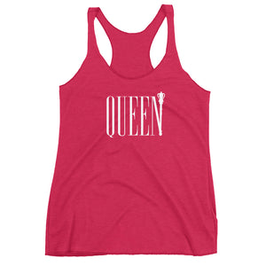 Queen Women's Racerback Tank