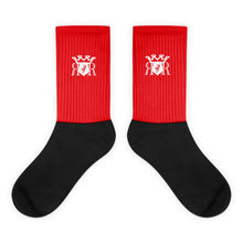 Load image into Gallery viewer, Ron Royal Socks Red