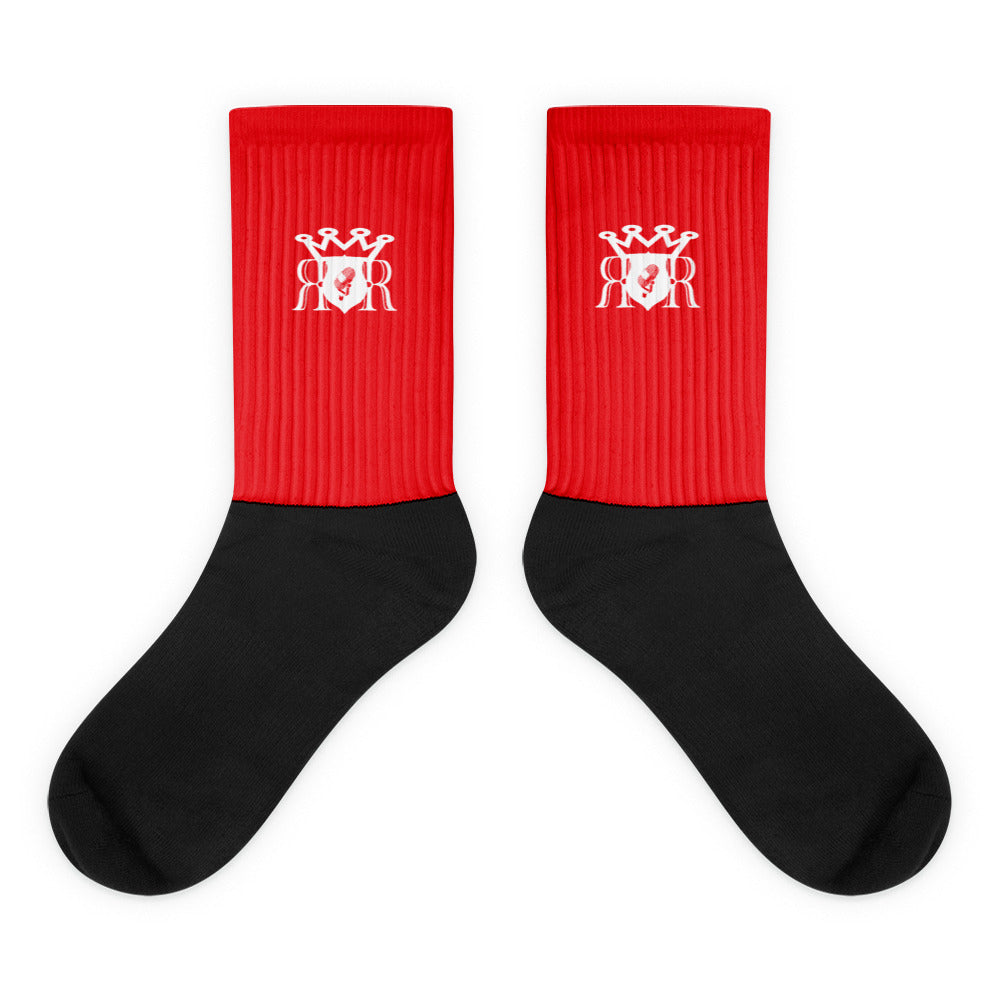 Ron Royal Socks Red
