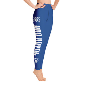 Ron Royal Yoga Leggings (Blue)