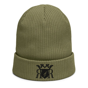 Royal Organic Ribbed Beanie