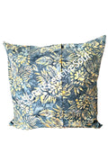 18x18 Floral Batik Outdoor Envelope Pillow Cover.