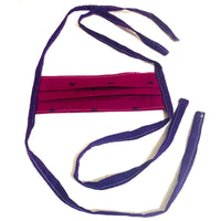 Adult Cotton Fabric Handmade Face Mask with Fabric Ties - SonalCreativeSoul