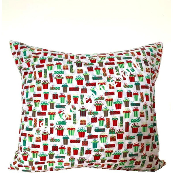 18x18 Christmas Presents Envelope Pillow Cover.