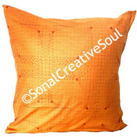 18x18 Fall Pumpkin Orange Envelope Pillow Cover.