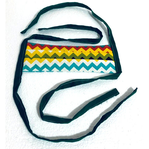Adult Cotton Fabric Handmade Face Mask with Fabric Ties