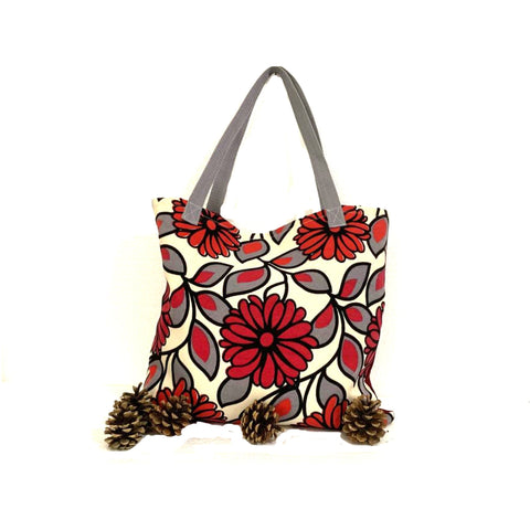 Red White Shopping Bag
