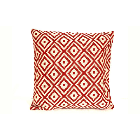 18x18 Red Holiday Christmas Decorative Pillow Cover