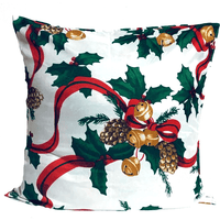 18x18 Holiday Christmas Decorative Pattern Envelope Pillow Cover - SonalCreativeSoul