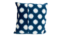 Blue White Designer Outdoor Envelope Pillow Cover - SonalCreativeSoul