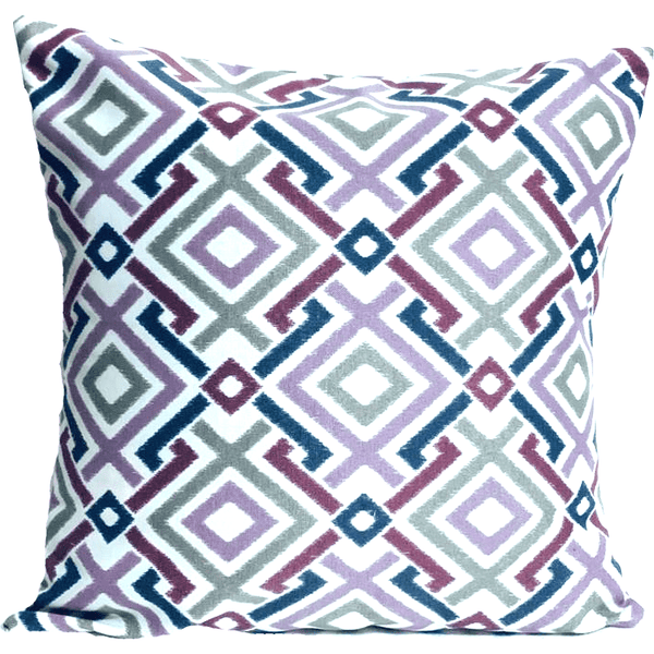 Modern Pink Designer Pattern Envelope Pillow Cover.