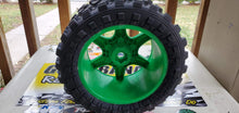 Load image into Gallery viewer, MadMax Land G-Rippers - Green V1 wheels