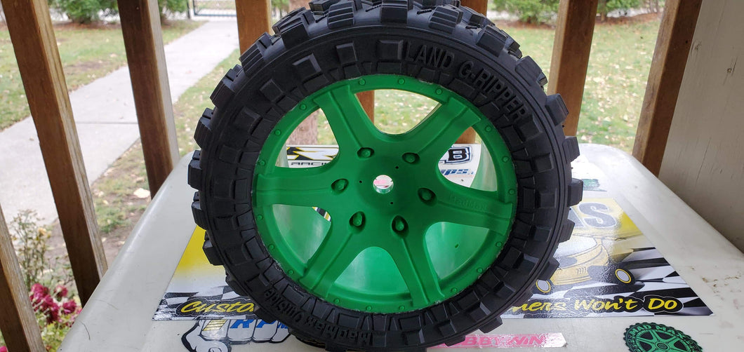 MadMax Land G-Rippers - Green V1 wheels
