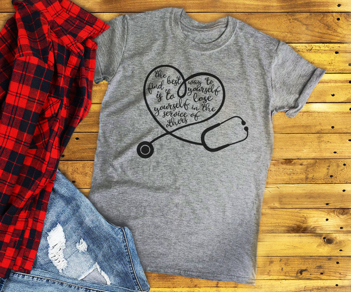 Stethoscope Heart Shirt
